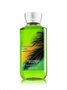 Bath and Body Works Coconut Lime Verbena Shower Gel