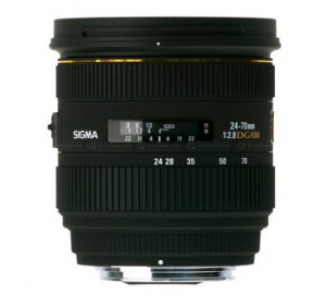 Sigma 24-70mm F2.8 IF EX DG HSM - Nikon Mount Lens