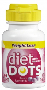 Diet Dots Berry Weight Loss Dietary Supplement with Acai