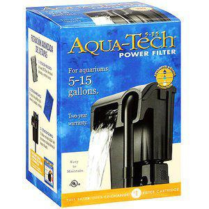 Filter for 5-15 Gallon Aquariums, Aqua-Tech Power