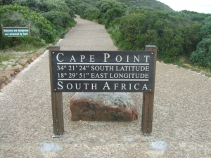 Cape Point and Cape Peninsula National Park in South Africa