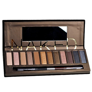 Urban Decay Naked Palette with Brush