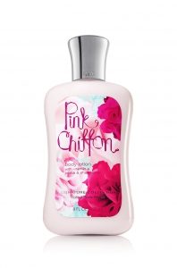 Bath and Body Works Signature Collection Pink Chiffon Body Lotion