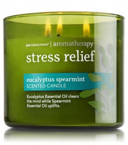 Bath Amp Body Works Aromatherapy Stress Relief Candle Review