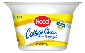 Hood Cottage Cheese With Pineapple Six Ounce Cup