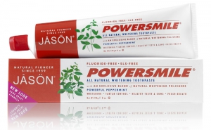 Jason Natural Cosmetics Powersmile All Natural Whitening Toothpaste