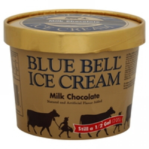 Blue Bell Milk Chocolate Ice Cream