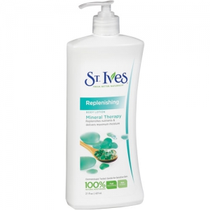 St Ives Replenishing Mineral Therapy Body Lotion