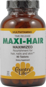 Country Life: Maxi-hair Dietary Supplements