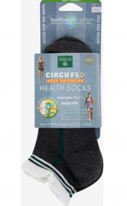 Earth Therapeutics Circu-flo Health Socks  1 pair med/lg
