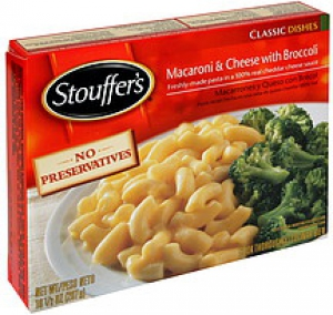 Stouffer's Macaroni & Cheese with Broccoli