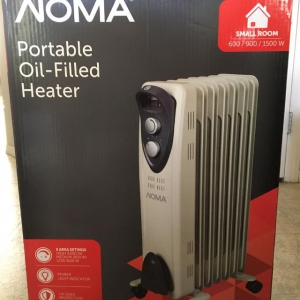 Noma Oil Filled Radiator Heater Review