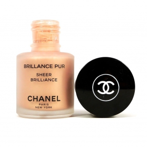 Chanel Sheer Brilliance in Golden Apricot