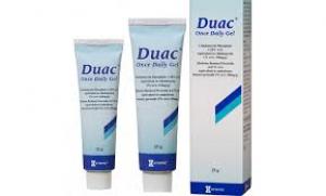 Acne cream duac
