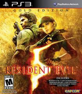 Resident Evil 5 video game on Playstation 3