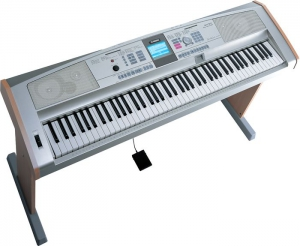 The Yamaha DGX 505 Portable Grand Keyboard