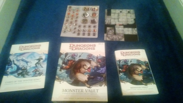Dungeons and Dragons Essentials Monster Vault