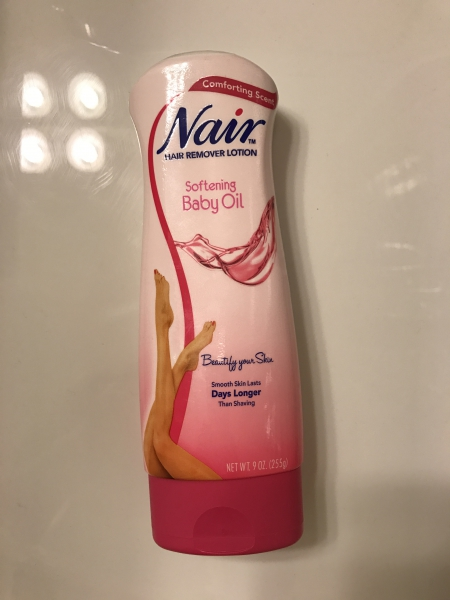 Nair Hair Remover Lotion Softening Baby Oil Review