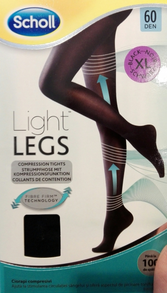 scholl light legs compressive tights 60 den black xl review. Black Bedroom Furniture Sets. Home Design Ideas