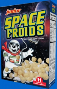 Sunshine Snacks Space Froids Cereal