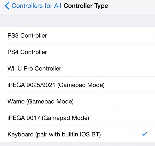 Controllers for All (iPhone Tweak)