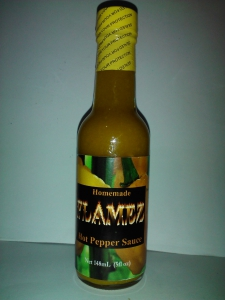 Homemade Flamez Hot Pepper Sauce