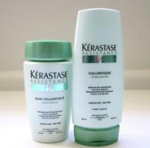 Kerastase thickening effect and volumizing shampoo and for Salon kerastase paris