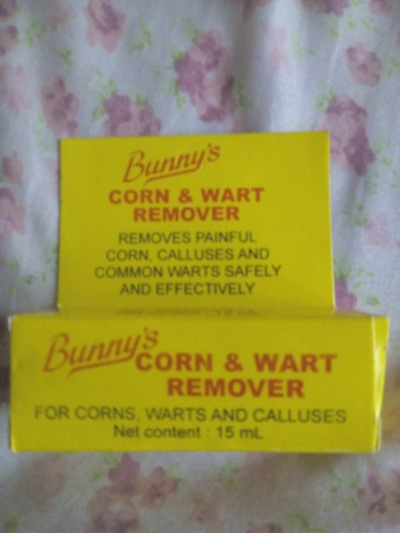 how to get rid of a corn wart
