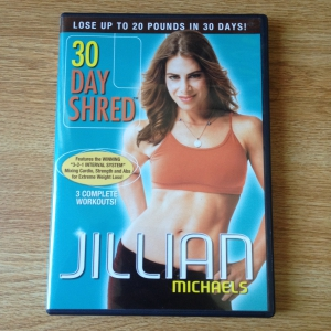 Jillian Michael's 30 Day Shred Workout DVD