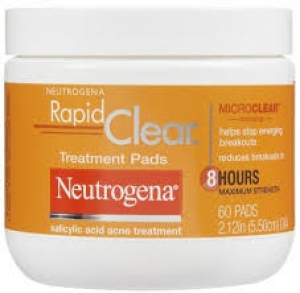 Neutrogena Rapid Clear Daily Pads