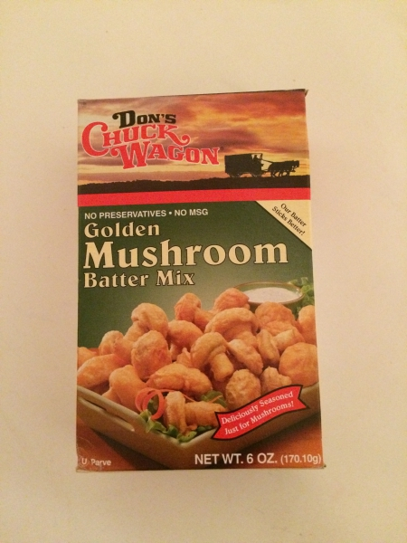 where I purchased the Don's Chuck Wagon golden mushroom batter mix ...