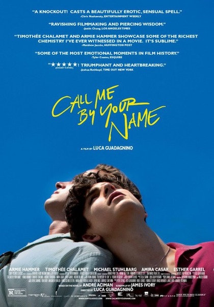Call Me by Your Name (2017 coming-of-age drama film)