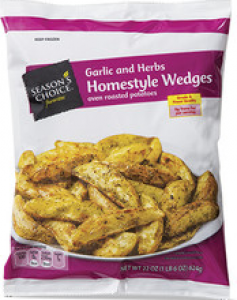 Season's Choice Garlic and Herb Homestyle Wedges Oven Roasted Potatoes