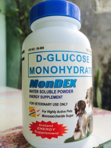 Mondex (D-Glucose Monohydrate) energy supplement for pets