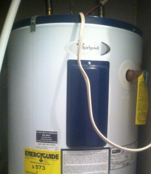 Whirlpool Hot Water Heater Re Light Instructions