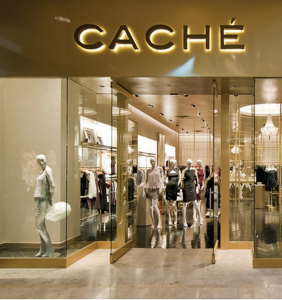 Clothing stores similar to cache