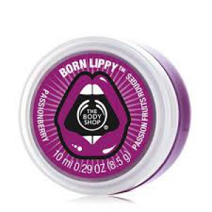The Body Shop Born Lippy Lip Balm in Passionberry