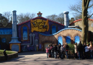 Charlie and the Chocolate Factory Ride, Alton Towers Staffordshire
