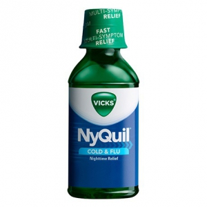Vicks Nyquil Cold and Flu relief liquid