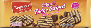Benton's Cookies Original Fudge Striped Shortbread Cookies