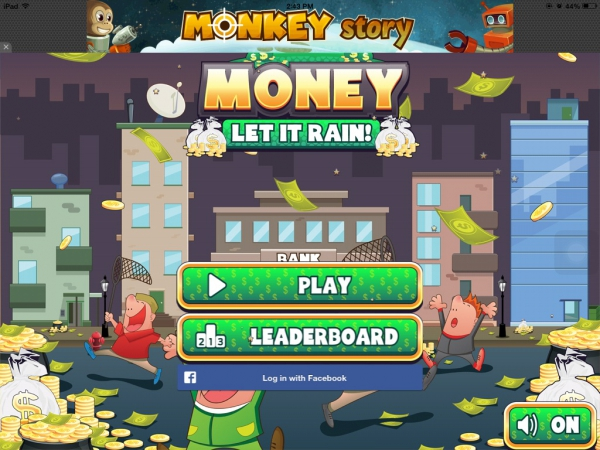 Money- Let It Rain, Game on IOS and Android Devices