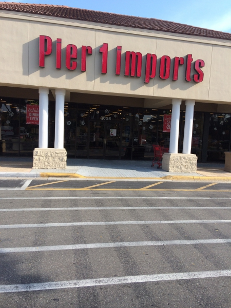 Gainesville FL Pier 1 Imports Home Decor Store Review
