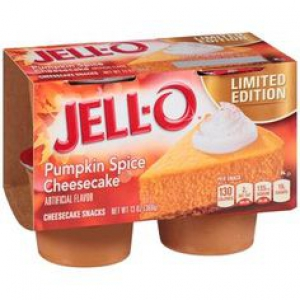Jell-o Limited Edition Pumpkin Spice Cheesecake