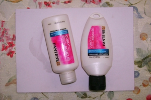 Pantene Curly Hair series for Dry to Moisturized Hair