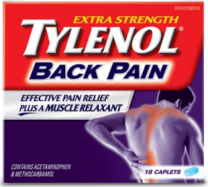 tylenol back pain review
