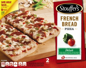 Stouffer's Deluxe French Bread Pizza