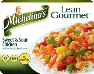 Michelinas Lean Gourmet Sweet and Sour Chicken