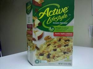 Active Lifestyle Instant Oatmeal