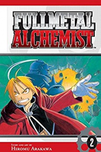 Fullmetal Alchemist Manga Volume 2 (Graphic Novel)