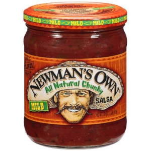 Newman's Own All Natural Chunky Salsa - Mild